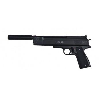 Pistolet pneumatyczny HW 45 z tłumikiem