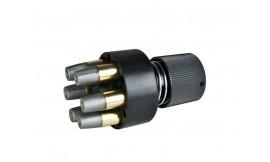 Szybkoładowacz na 6 naboi do rewolweru Webley MK VI 4,5 mm BB