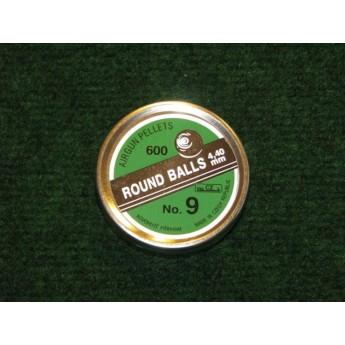 Śrut Punktkugeln (kulki) 4,4 mm - 600 sztuk