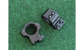 Montaż 2-częściowy średni na 12 śrub z kołkiem AccuShot 1