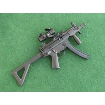 Pistolet maszynowy Co2 H&K MP5K PDW + kolimator Walther PS22